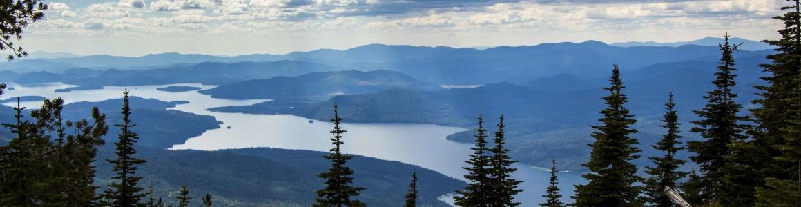 Still Photography at Beautiful Priest Lake, Idaho